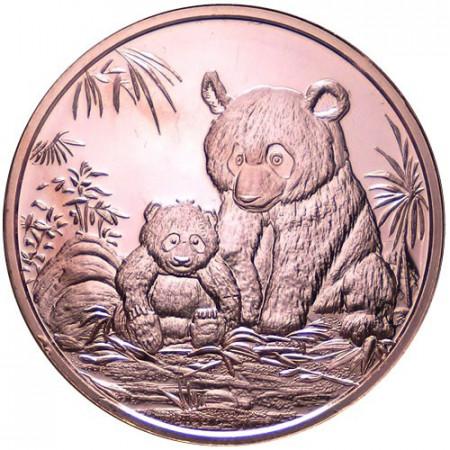2013 Copper round United States Copper medal Panda