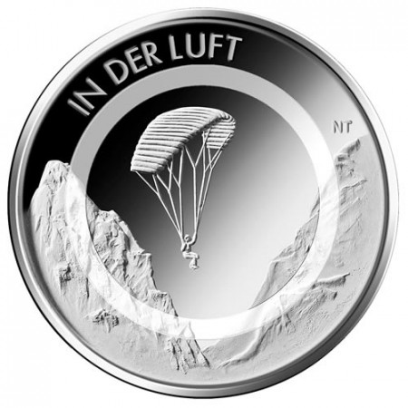 "2019 * 10 Euro Metal Polymer GERMANY ""In the Air"" (Random Mint) UNC"