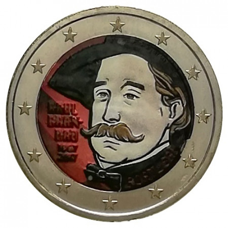 "2017 * 2 Euro PORTUGAL ""150 Years Birth of Raul Brandão"" Colored"
