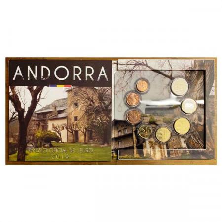 2019 * ANDORRA Official Euro Coin Set BU