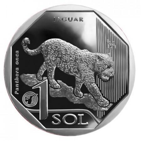 """2018 * 1 Sol Peru """"Jaguar"""" UNC"""