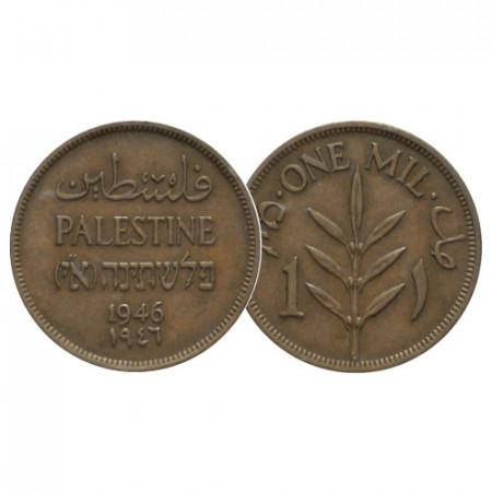 "1946 * 1 Mil Palestine ""British Mandate"" (KM 1) VF+"