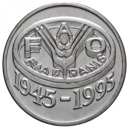"""1995 * 10 Lei Romania """"F.A.O. Series""""- KM 117.2 (N)"""