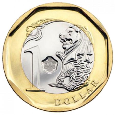 2013 * 1 dollar Singapore Lion