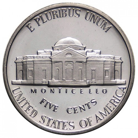 "1993 S * 5 Cents Nickel of Dollar United States U.S. ""Monticello"" PROOF"