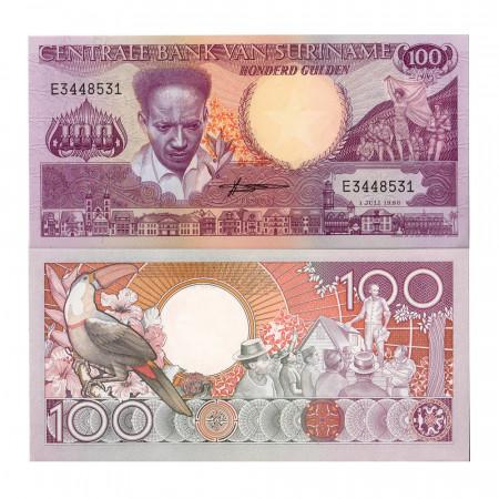 1986 * Banknote Suriname 100 Gulden (p133a) UNC