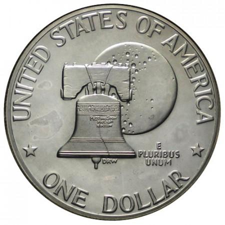 "1976 S * 1 Dollar United States ""Eisenhower - Bicentennial"" San Francisco Type 2 (KM 206) PROOF"