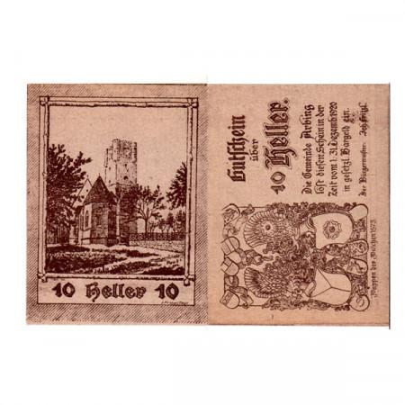 "1920 * Notgeld Austria 10 Heller ""Upper Austria - Arbing"" (FS 49)"