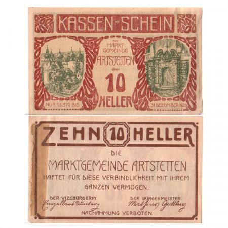 "1920 * Notgeld Austria 10 Heller ""Lower Austria – Artstetten"" (FS 37Ia)"