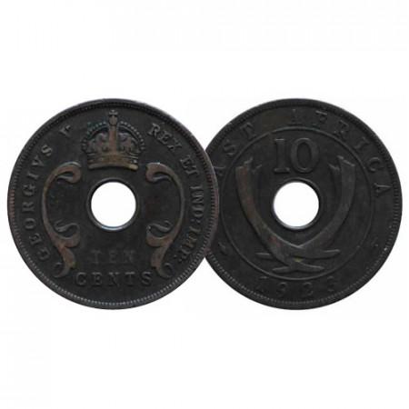 "1923 * 10 Cents British East Africa ""George V"" (KM 19) VF"