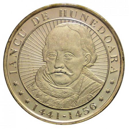 """2016 * 50 Bani Romania """"John Hunyadi"""" UNC"""