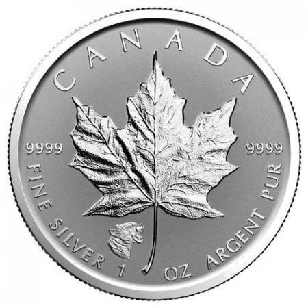 """2017 * 5 Dollars Silver 1 OZ Maple Leaf Canada """"Puma"""" Privy Mark"""