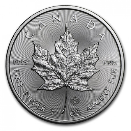 "2017 * 5 Dollars Silver 1 OZ Canada ""Maple Leaf"" UNC"