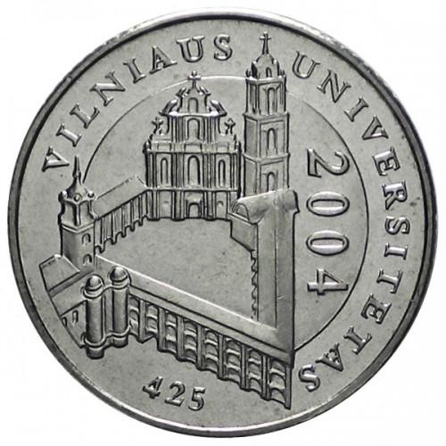 UNC LITHUANIA 1 LITAS 2004 425 YEARS OF VILNIUS UNISERSITY