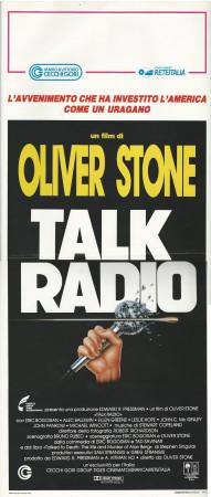 "1989 * Affiches De Cinéma ""Talk Radio - Oliver Stone, Alec Baldwin"" Drame (B)"