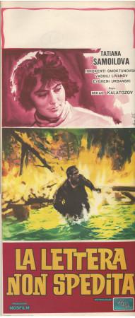"""1960 * Affiches De Cinéma """"La Lettera non Spedita - Fernando Cerchio"""" Drame (B+)"""