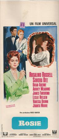 """1967 * Affiches De Cinéma """"Rosie -  B Aherne, R Russell"""" Comédie (B)"""