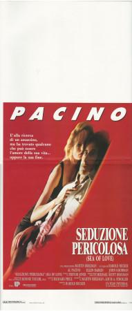 """1989 * Affiches De Cinéma """"Seduzione Pericolosa - Al Pacino"""" Thriller (B)"""