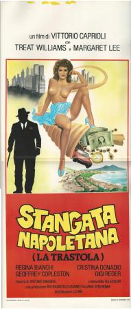 """1983 * Affiches De Cinéma """"La Stangata Napoletana -  Vittorio Caprioli"""" Drame (B+)"""