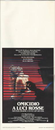 """1985 * Affiches De Cinéma """"Omicidio a Luci Rosse - Brian De Palma, M Griffith"""" Thriller (B+)"""