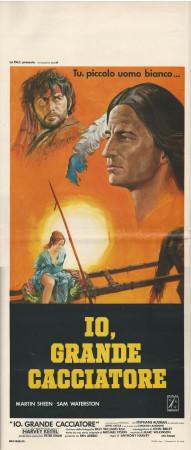"1979 * Affiches De Cinéma ""Io, Grande Cacciatore - Anthony Harvey"" Western (B)"