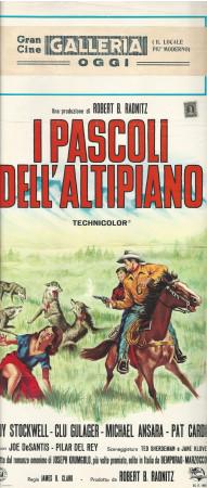 """1966 * Affiches De Cinéma """"I Pascoli dell'Altipiano - Michael Ansara"""" Western (B)"""