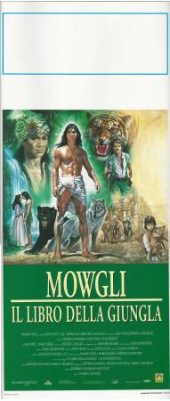 """1995 * Affiches De Cinéma """"Mowgli, Il Libro della Giungla - S Sommers"""" Aventures (A-)"""