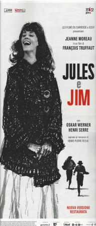 """(2019) * Affiches De Cinéma """"Jules et Jim - François Truffaut"""" Drame (A-)"""