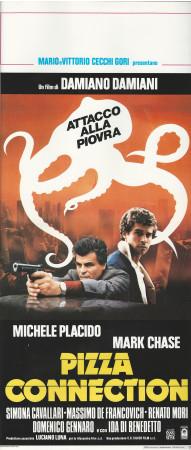 """1985 * Affiches De Cinéma """"Pizza Connection - Michele Placido"""" Policier (B+)"""