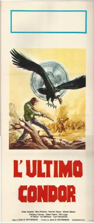 """ND * Affiches De Cinéma """"L'Ultimo Condor - John Patterson"""" Western (B)"""