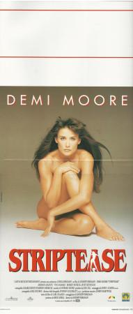 """1996 * Affiches De Cinéma """"Striptease - Demi Moore"""" Drame (B)"""