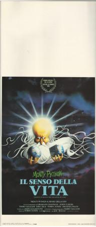 """1983 * Affiches De Cinéma """"Il Senso della Vita - Monty Python"""" Comique (B+)"""