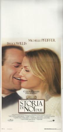 """2000 * Affiches De Cinéma """"Storia di Noi Due - Michelle Pfeiffer, Bruce Willis"""" Drame (B)"""