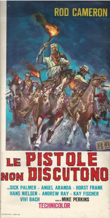 """1964 * Affiches De Cinéma """"Le Pistole Non Discutono - Dick Palmer"""""""