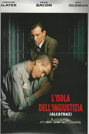 """1995 * Affiches De Cinéma """"Meurtre à Alcatraz - Kevin Bacon"""""""