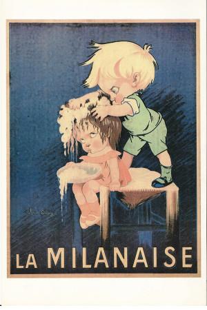 """Publicité """"La Milanaise - John Onwy"""" Reproduction"""
