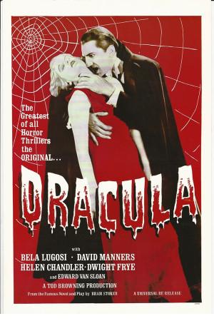 "Affiches De Cinéma ""Dracula - Bela Lugosi, Helen Chandler, David Manners"" Reproduction Horreur"
