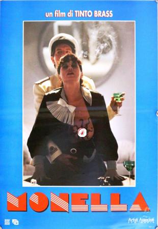 """1998 * Affiches De Cinéma """"Monella - Tinto Brass, Anna Ammirati, Serena Grandi"""" Érotique (A-)"""