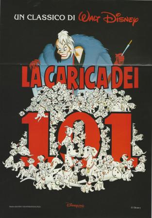 """1995 * Affiches De Cinéma """"Les 101 Dalmatiens - Walt Disney"""" Fantasy Anime"""