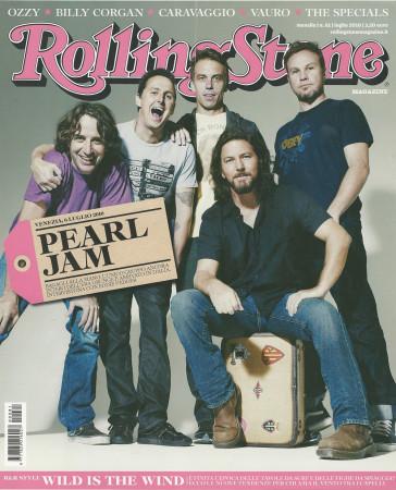 """2010 (N81) * Couverture de Magazine Rolling Stone Originale """"Pearl Jam"""" dans Passepartout"""
