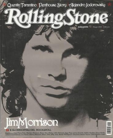 """2004 (N7) * Couverture de Magazine Rolling Stone Originale """"Jim Morrison"""" dans Passepartout"""