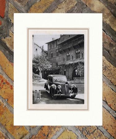 """1938 * Publicité Original """"Fiat - 2800"""" dans Passepartout"""
