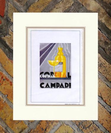 "1941 * Publicité Original ""Campari Cordial -  DIULGHEROFF"" dans Passepartout"