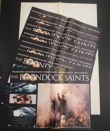 """1999 * Set 10 Affiches De Cinéma """"The Boondock Saints - Troy Duffy, Willem Dafoe"""" Politique (B)"""