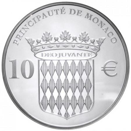 2012 * 10 euro MONACO 400 ans Honoré II BE