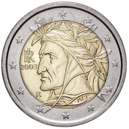 2003 * 2 euro ITALIE Dante unc