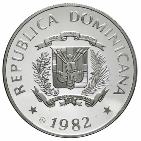 1982 * 10 Pesos République Dominicaine Année de l'enfant
