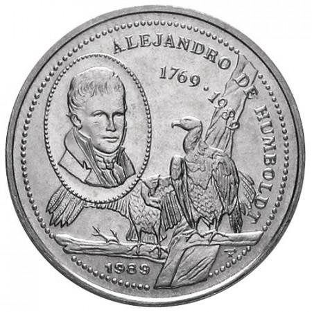 1989 * 25 centavos Cuba 220e Alejandro de Humboldt