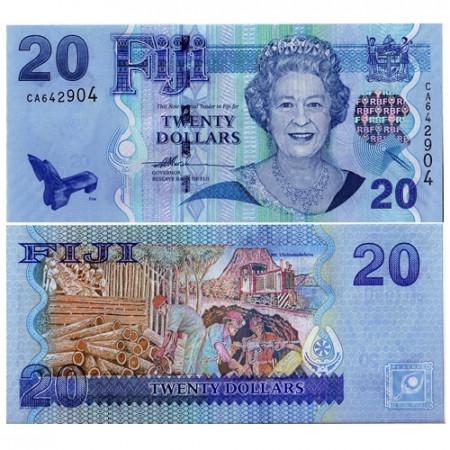 2007 * Billet Fidji 20 dollars NEUF