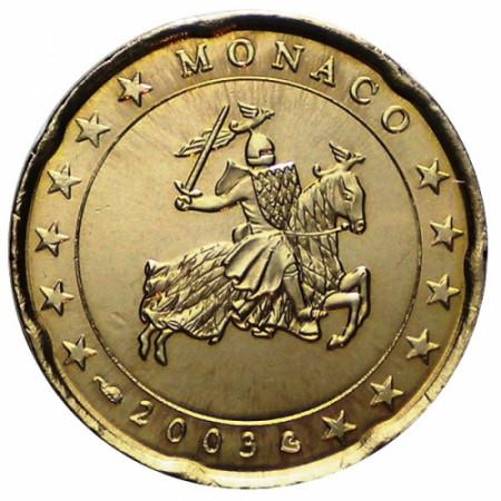 2003 * 20 centièmes MONACO sceau de Monaco